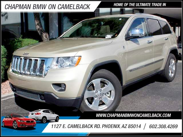 2011 Jeep Grand Cherokee Overland 49109 miles 1127 E Camelback BUY WITH CONFIDENCE Chapma