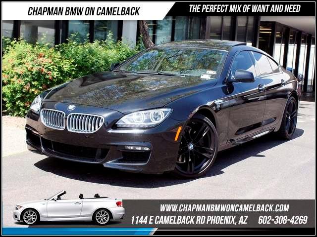 2015 BMW 6-Series 650i Gran Coupe MsptExecDriver 1867 miles 1144 E CamelbackCPO Spring Sale
