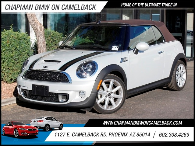 2013 MINI Convertible Cooper S 3938 miles 1127 E Camelback BUY WITH CONFIDENCE Chapman BM