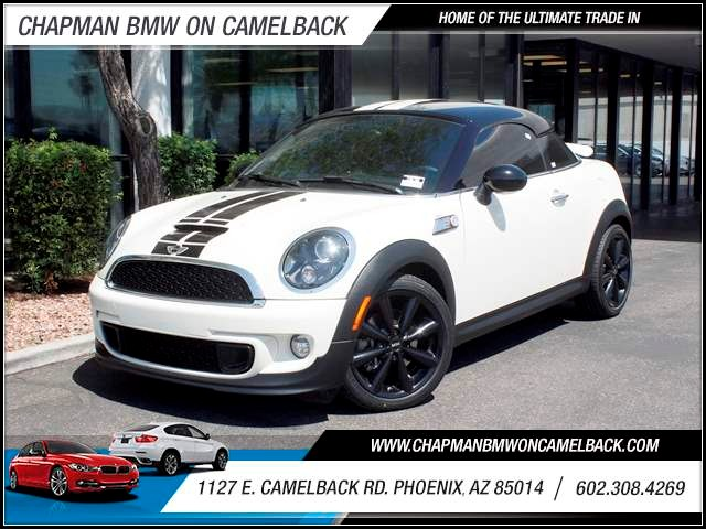 2012 MINI Cooper Coupe S 38942 miles 602 385-2286 1127 E Camelback HOME OF THE ULTIMATE TRAD