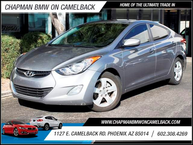2012 Hyundai Elantra GLS 51902 miles 1127 E Camelback BUY WITH CONFIDENCE Chapman BMW Use