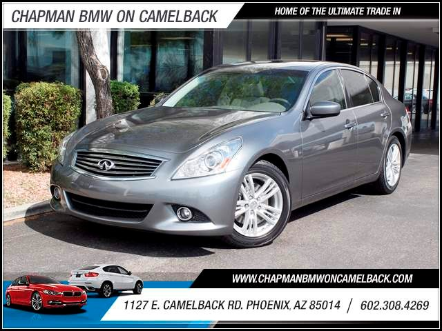 2013 Infiniti G37 Sport 30617 miles 602 385-2286 1127 E Camelback HOME OF THE ULTIMATE TRADE
