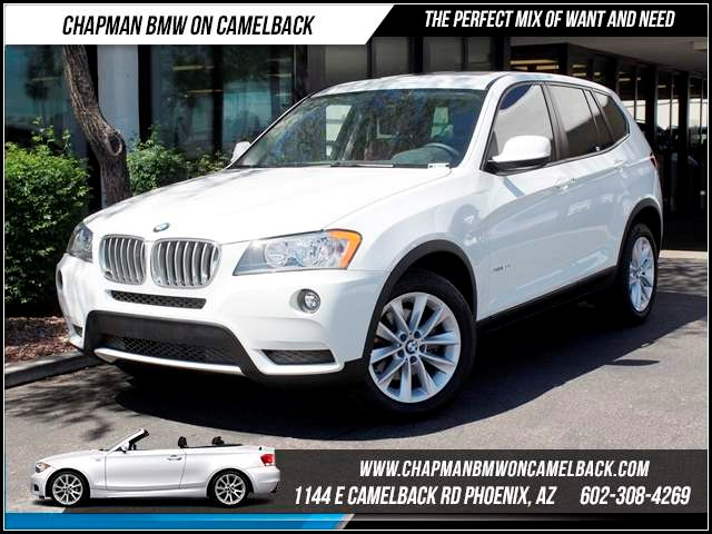 2014 BMW X3 xDrive28i Tech Pkg Nav 15104 miles 1144 E CamelbackMarch Madness Sales Event on n
