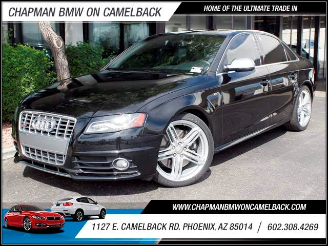 2012 Audi S4 30T quattro Prem Plus 49512 miles 1127 E Camelback BUY WITH CONFIDENCE Chap