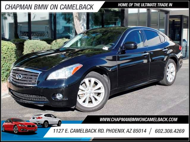 2011 Infiniti M37 31636 miles 1127 E Camelback BUY WITH CONFIDENCE Chapman BMW is located