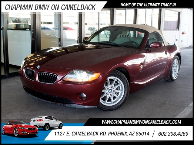 2004 BMW Z4 25i 68942 miles 602 385-2286 1127 E Camelback HOME OF THE ULTIMATE TRADE IN