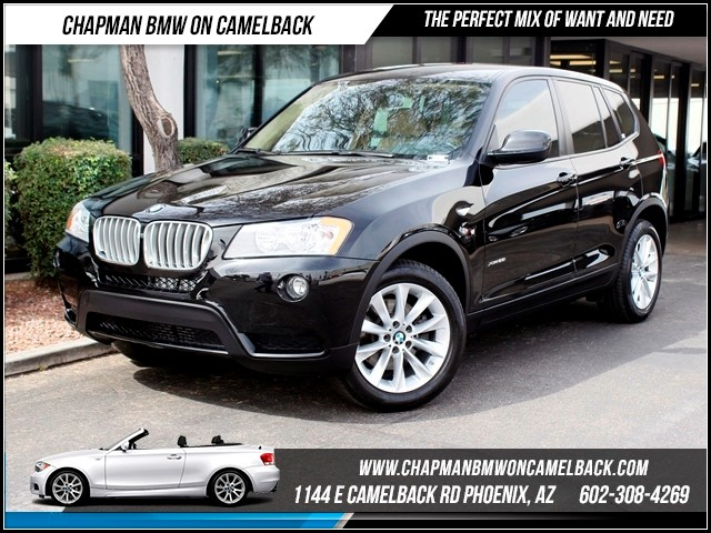 2014 BMW X3 xDrive28i 14183 miles Chapman BMW on Camelback CPO Elite Sales Event Take advantage
