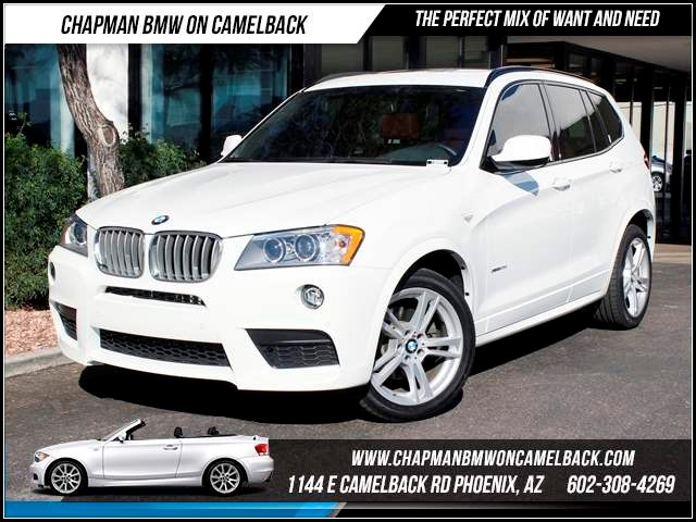 2012 BMW X3 xDrive35i NAV TechMSport 36234 miles 1144 E CamelbackCPO Elite Sales Event on now