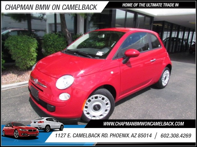 2013 FIAT 500 Pop 22138 miles 1127 E Camelback BUY WITH CONFIDENCE Chapman BMW is locate