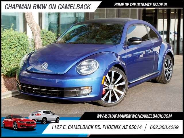 2013 Volkswagen Beetle Turbo PZEV 15339 miles 1127 E Camelback BUY WITH CONFIDENCE Chapma