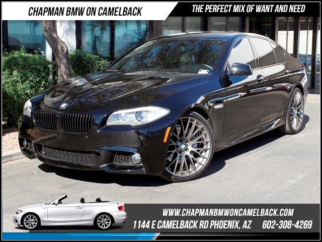 2013 BMW 5-Series 550i Drivers Asst Pkg Nav 22263 miles Chapman BMW on Camelback CPO Elite Sales E