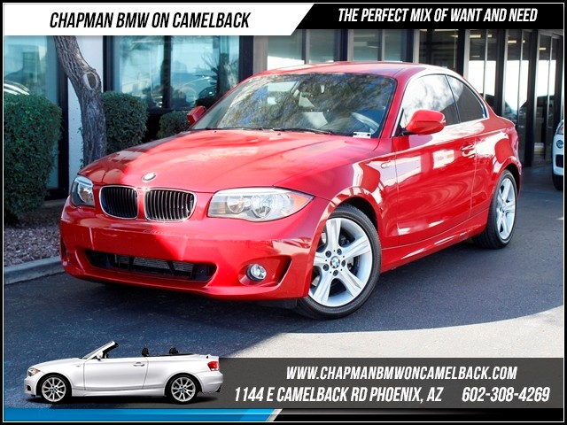 2012 BMW 1-Series 128i 44290 miles 1144 E CamelbackCPO Spring Sales Event on now at Chapman B