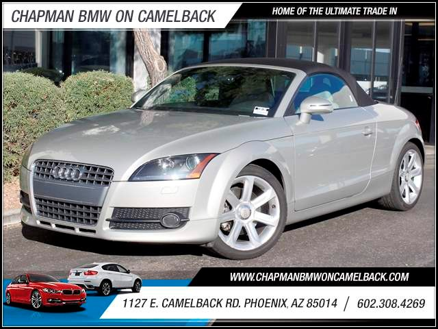 2008 Audi TT 20T 61153 miles 1127 E Camelback BUY WITH CONFIDENCE Chapman BMW Used Car C