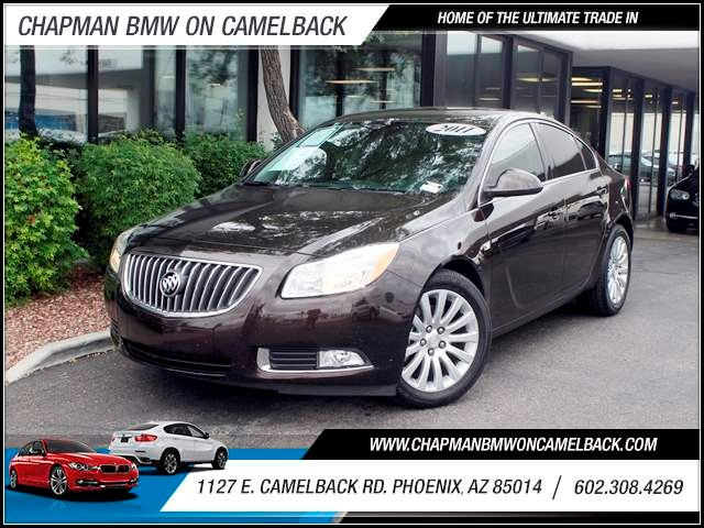 2011 Buick Regal CXL Turbo 62417 miles 602 385-2286 1127 E Camelback HOME OF THE ULTIMATE TR