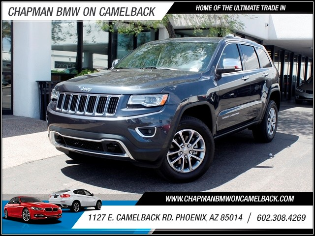 2014 Jeep Grand Cherokee Limited 17261 miles 602 385-2286 1127 E Camelback HOME OF THE ULTIM