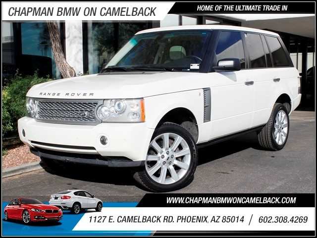 2008 Land Rover Range Rover Supercharged 42847 miles 1127 E Camelback BUY WITH CONFIDENCE