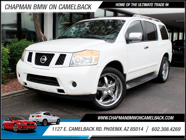2011 Nissan Armada SL 72756 miles 1127 E Camelback BUY WITH CONFIDENCE Chapman BMW is loc