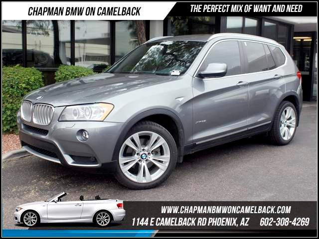 2013 BMW X3 xDrive35i TechDriver Assist Pkg 54538 miles 1144 E CamelbackHappier Holiday Sales E