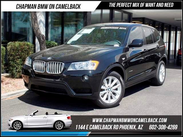 2014 BMW X3 xDrive28i 13246 miles 1144 E CamelbackCPO Spring Sales Event on now at Chapman BM