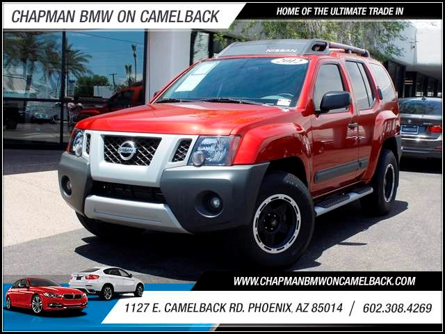 2012 Nissan Xterra 20660 miles 602 385-2286 1127 E Camelback HOME OF THE ULTIMATE TRADE IN