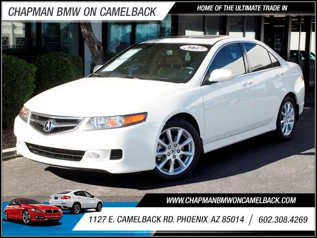 2007 Acura TSX wNavi 91622 miles 1127 E Camelback BUY WITH CONFIDENCE Chapman BMW is loc