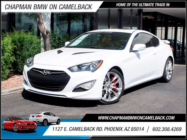 2015 Hyundai Genesis Coupe 38 R-Spec 1762 miles Wireless data link Bluetooth Cruise control An