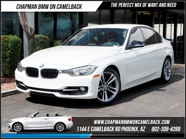 2012 BMW 3-Series Sdn 328i Sport Line 29017 miles Chapman BMW on Camelback CPO Elite Sales Event