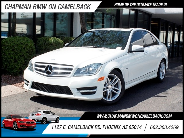 2012 Mercedes C-Class C250 Luxury 55505 miles 602 385-2286 1127 E Camelback HOME OF THE ULTI