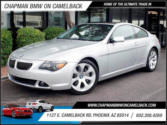 2005 BMW 6-Series 645Ci 39026 miles 1127 E Camelback BUY WITH CONFIDENCE Chapman BMW is l