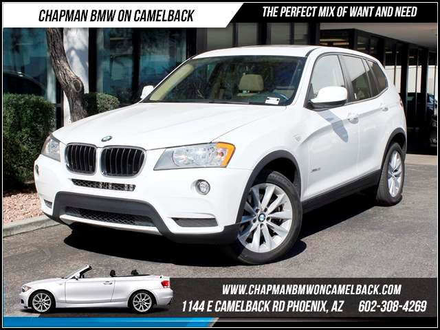 2013 BMW X3 xDrive28i Nav 40892 miles Chapman BMW on Camelback CPO Elite Sales Event Take advant