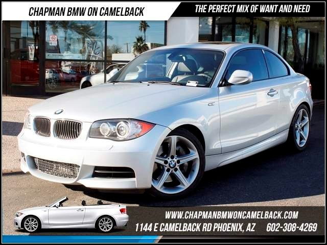 2011 BMW 1-Series 135i PremSport Pkg 38764 miles 1144 E CamelbackHappier Holiday Sales Event on