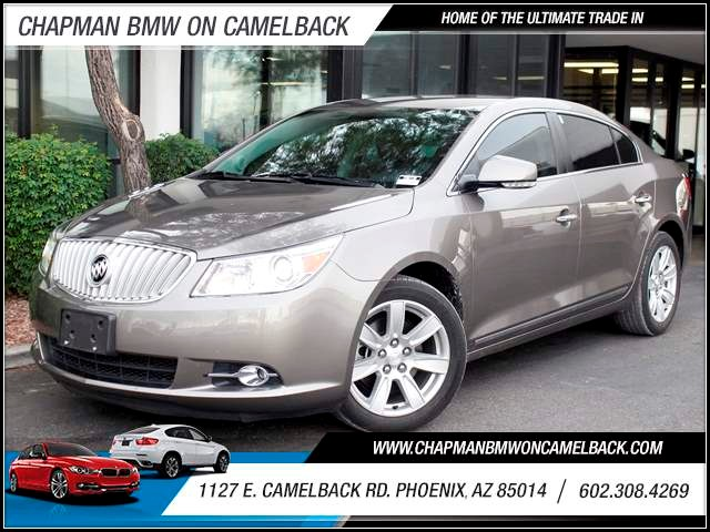 2012 Buick LaCrosse Premium 37253 miles 1127 E Camelback BUY WITH CONFIDENCE Chapman BMW