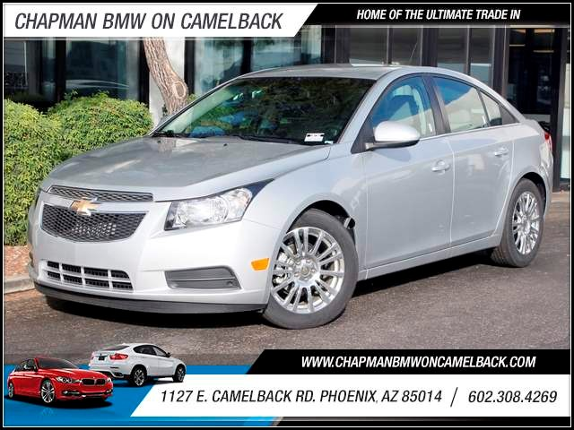 2012 Chevrolet Cruze ECO 7805 miles 1127 E Camelback BUY WITH CONFIDENCE Chapman BMW is l
