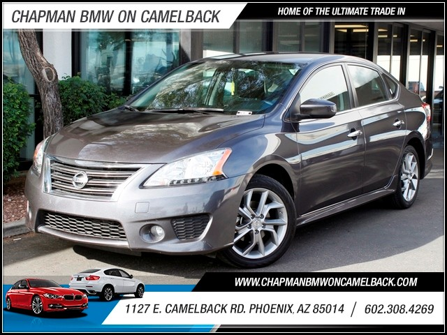 2013 Nissan Sentra SR 31222 miles 1127 E Camelback BUY WITH CONFIDENCE Chapman BMW is loc