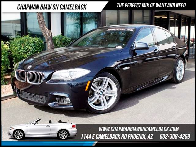 2012 BMW 5-Series 535i M Sport NavHeads UpTech P 42516 miles 1144 E CamelbackCPO Elite Sales