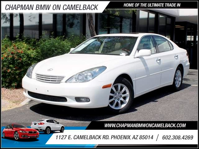2004 Lexus ES 330 75681 miles 602 385-2286 1127 E Camelback HOME OF THE ULTIMATE TRADE IN