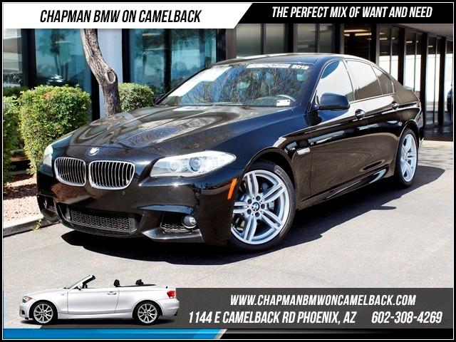 2012 BMW 5-Series 535i PremTechM Sport Pkg Nav 41345 miles Chapman BMW on Camelback CPO Elite Sa
