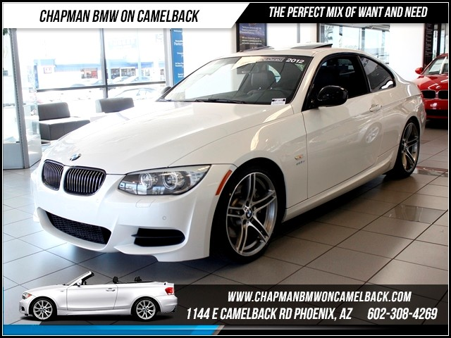 2012 BMW 3-Series Cpe 335is PremConv Pkg Nav 34628 miles Chapman BMW on Camelback CPO Elite Sales