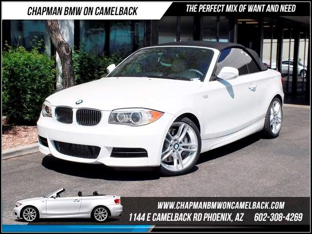 2012 BMW 1-Series 135i PremM Sport Pkg Nav 22642 miles 1144 E CamelbackMarch Madness Sales E