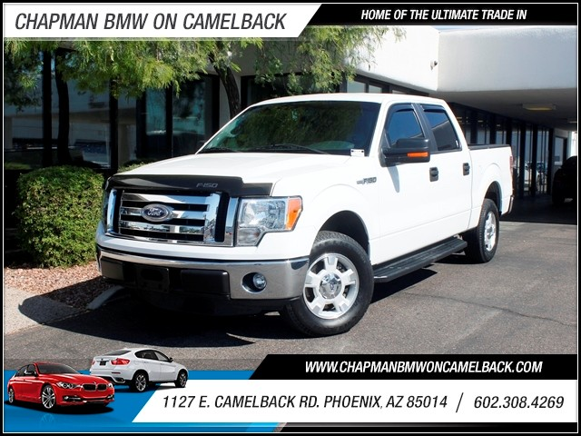 2011 Ford F-150 XLT Crew Cab 44365 miles 602 748-1691 1127 E Camelback HOME OF THE ULTIMATE