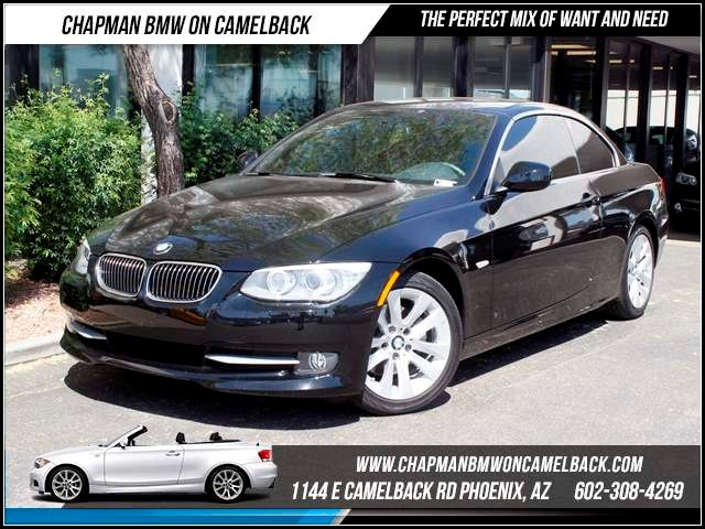 2012 BMW 3-Series Conv 328i Prem Pkg 14600 miles 1144 E CamelbackCPO Spring Sales Event on no