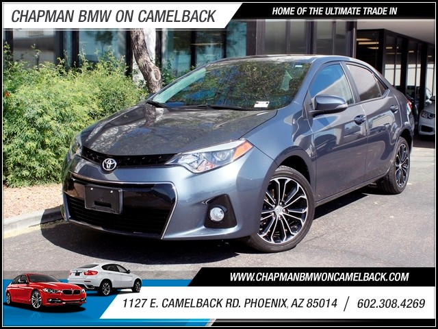 2014 Toyota Corolla S Plus 13655 miles 602 385-2286 1127 Camelback TAX SEASON IS HERE Buy t