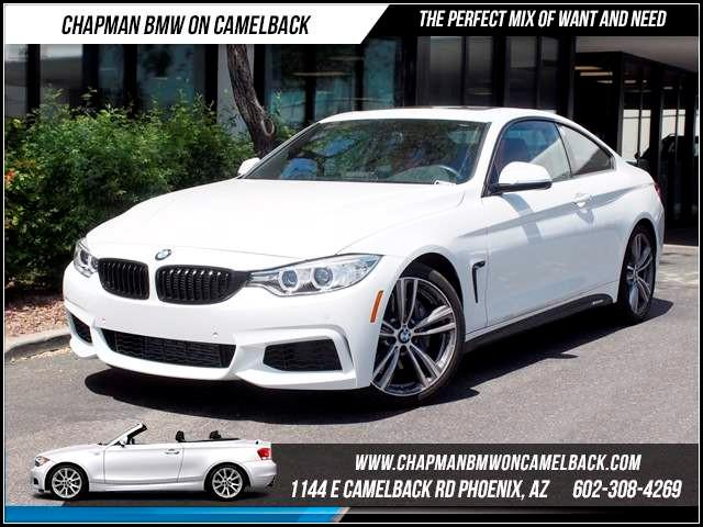 2015 BMW 4-Series 435i PremDrivers asstMsptTech 5106 miles 1144 E CamelbackCPO Spring Sale