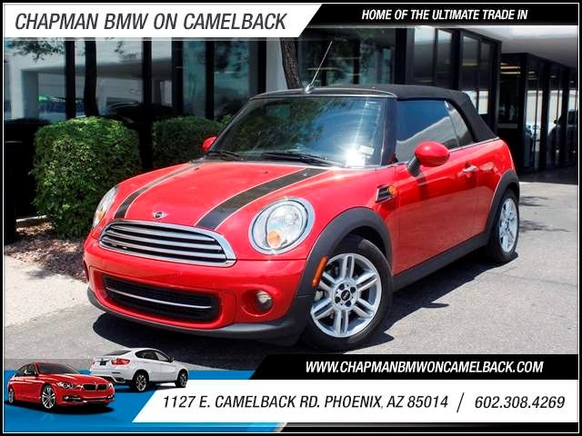 2012 MINI Cooper Convertible BLK 27180 miles 602 748-1691 1127 E Camelback HOME OF THE ULTIM