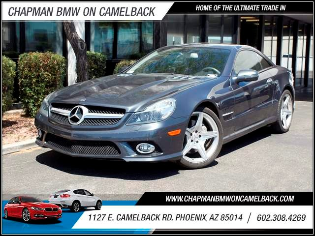 2009 Mercedes SL-Class SL550 65971 miles 602 385-2286 1127 E Camelback HOME OF THE ULTIMATE