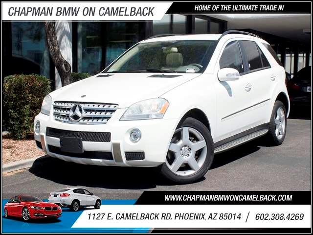 2008 Mercedes M-Class ML550 95950 miles 602 385-2286 1127 Camelback TAX SEASON IS HERE Buy