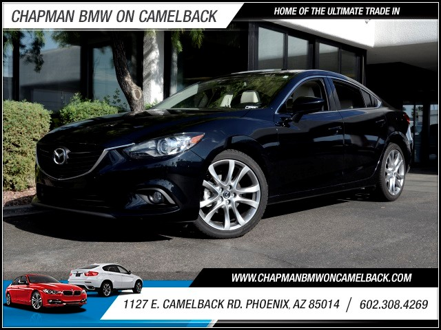 2014 Mazda MAZDA6 i Grand Touring 14857 miles 1127 E Camelback BUY WITH CONFIDENCE Chapm