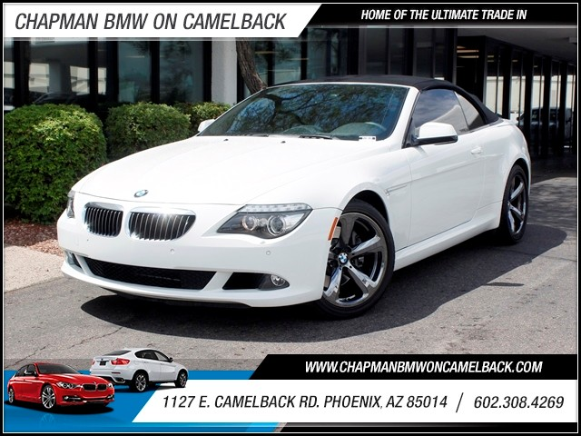 2010 BMW 6-Series 650i 38001 miles 602 385-2286 1127 E Camelback HOME OF THE ULTIMATE TRADE