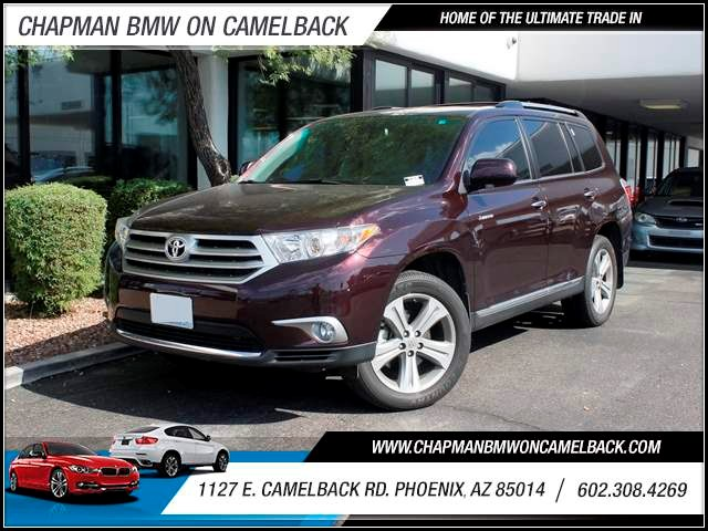 2012 Toyota Highlander Limited 32826 miles 602 385-2286 1127 Camelback TAX SEASON IS HERE B