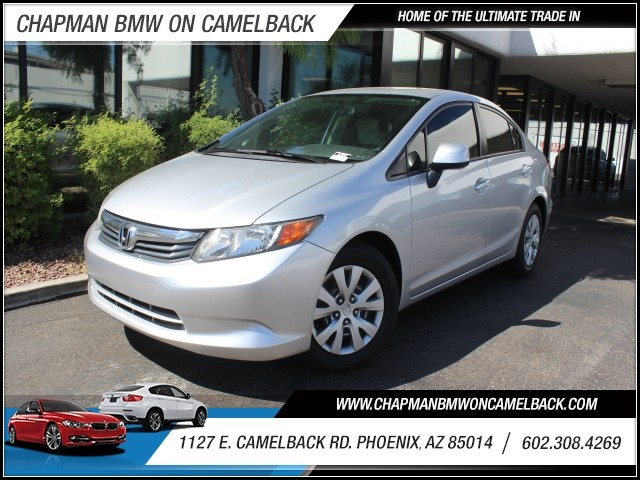 2012 Honda Civic LX 79829 miles 1127 E Camelback BUY WITH CONFIDENCE Chapman BMW is loca